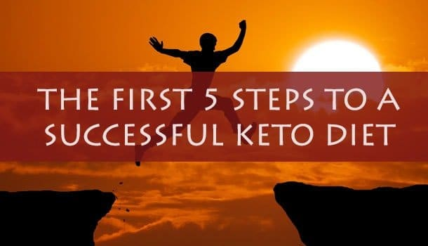 The fisrt 5 steps to a successfull keto
