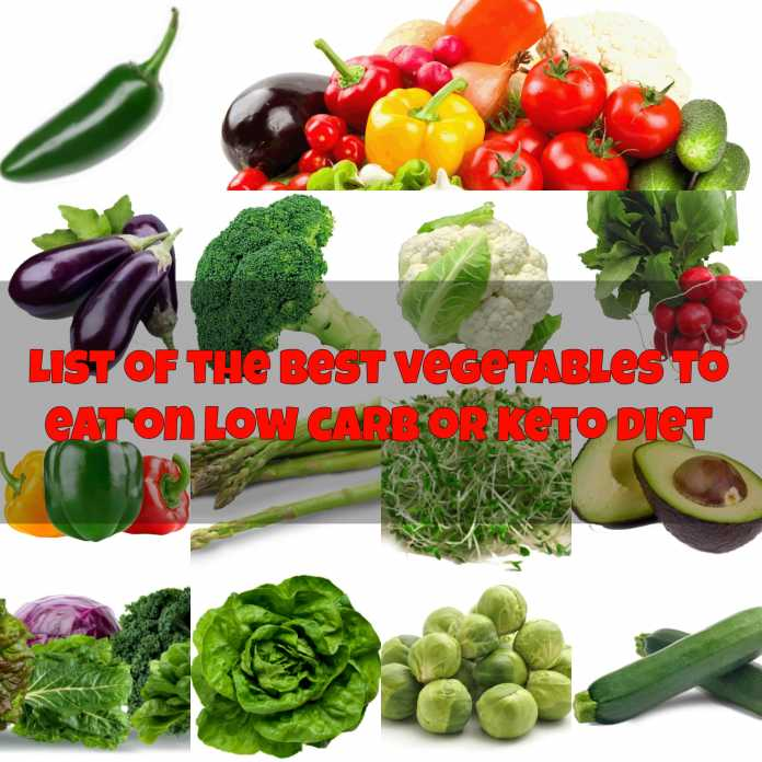 The Best Keto Vegetables List The Ultimate Low Carb Vegetables Guide