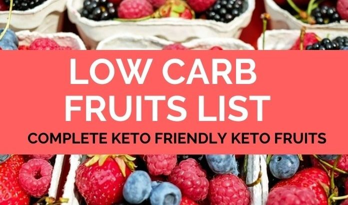 Low Carb Fruits Allowed on the Ketogenic Diet – The Complete Guide