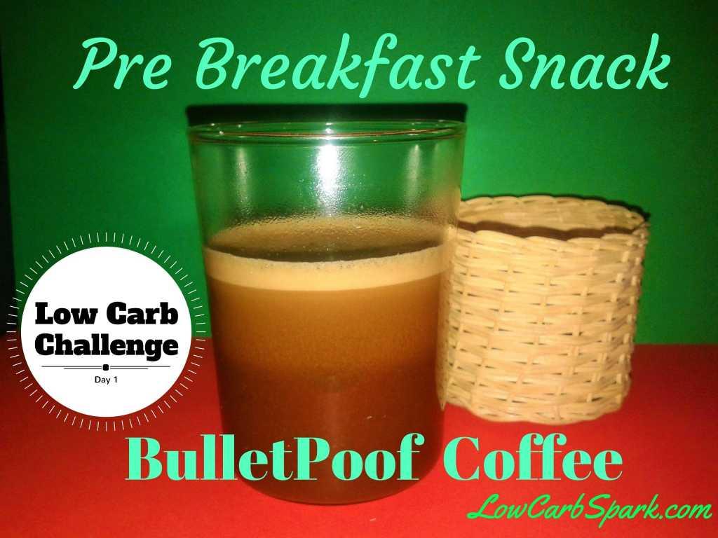 Low carb BulletProof Coffee