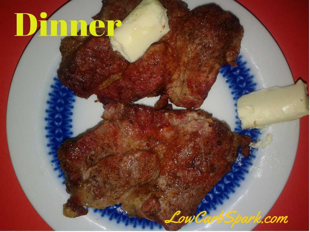Low carb steak butter