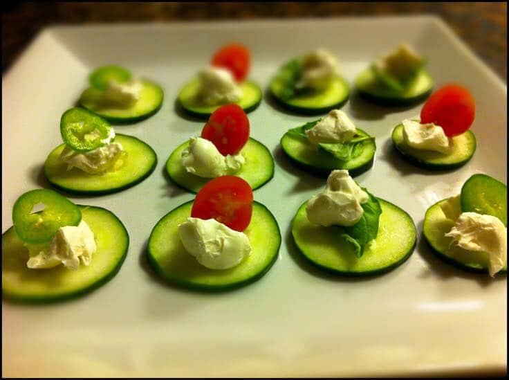 veggie snack low carb snack