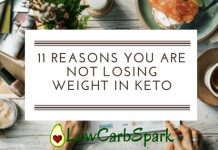 11 Reasons you are not losing weight in Keto