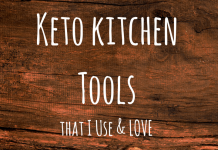 Keto Kitchen Tools