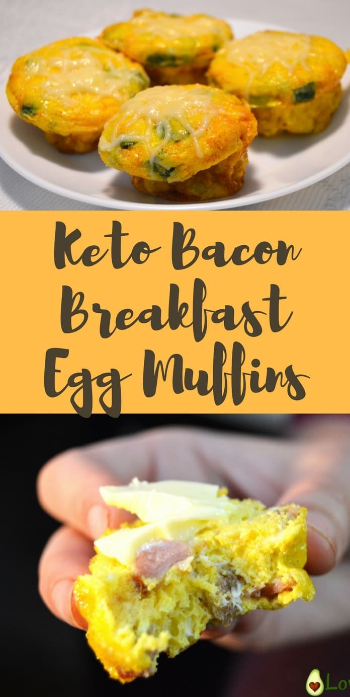 Having breakfast ready to go is one of my favorites things about the ketogenic diet. These keto breakfast muffins are incredibly easy to make and can be made with foods that you already have at home. Mix some eggs, bacon, and veggies of choice. Season with your favorite spices bake and voilà you have amazing breakfast muffins that you can actually eat at every moment of the day. These breakfast egg muffins are perfect to go option for busy mornings. #eggmuffins #ketoeggmuffins Recipe via @...