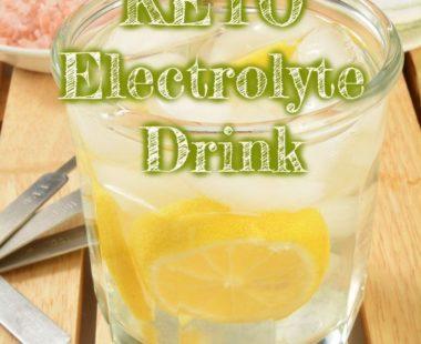 Homemade Keto Electrolyte Drink – Instant relief of keto-flu symptomes