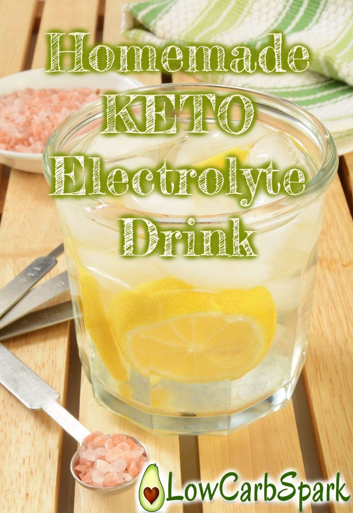 Homemade Keto Electrolyte Drink