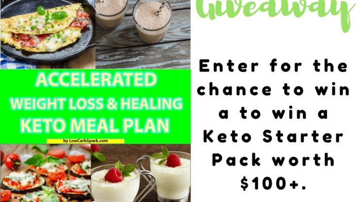 ACCELERATED WEIGHT LOSS & HEALING KETO MEAL PLAN RELEASE GIVEAWAY