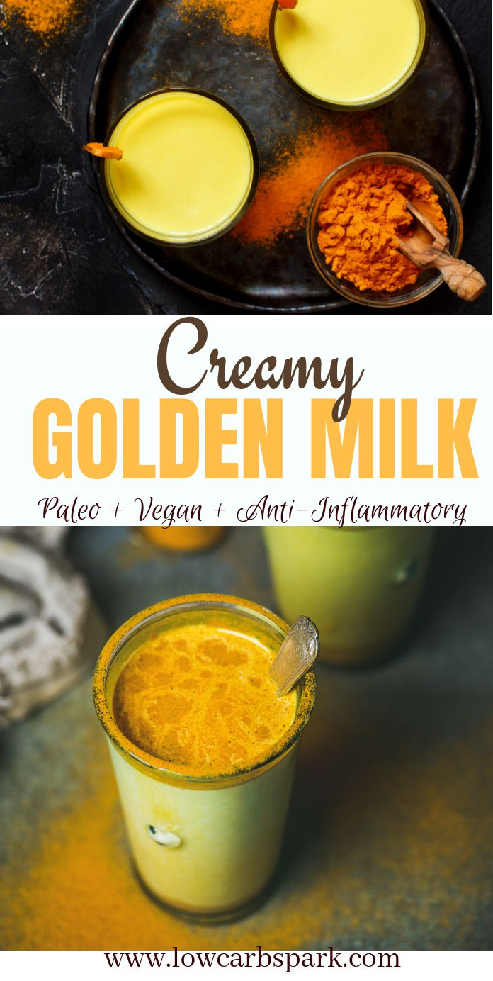 Bulletproof tea is a drink that is very low in carbs and a great way to up the fat intake in a keto diet. Enjoy the health benefits of a bulletproof drink even if you are not a coffee fan. Golden Milk is a health elixir used for centuries. The main ingredient you need is turmeric. #turmerictea #goldenmilk