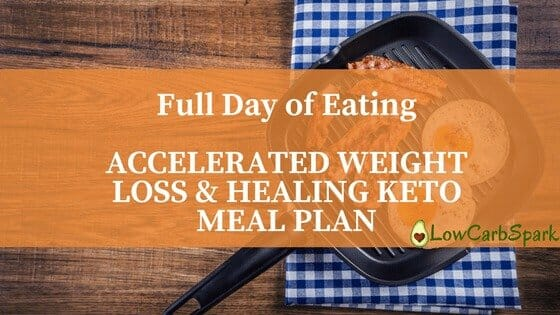 Full Day of Eating – ACCELERATED WEIGHT LOSS & HEALING KETO MEAL PLAN