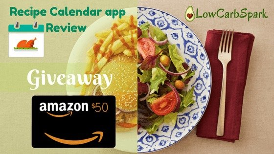 Recipe calendar meal planning app review great giveaway save forumfinder Choice Image