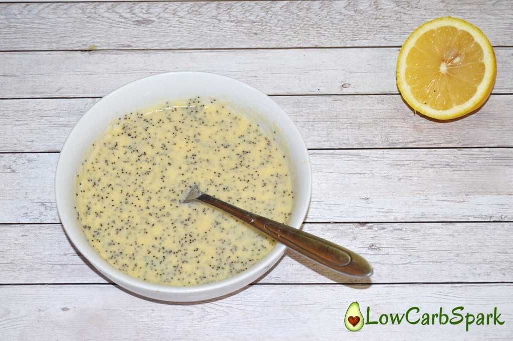 easy-lemon-poppy-seeds-keto-mug-cake-mix-eggs-mixed-low-carb-spark