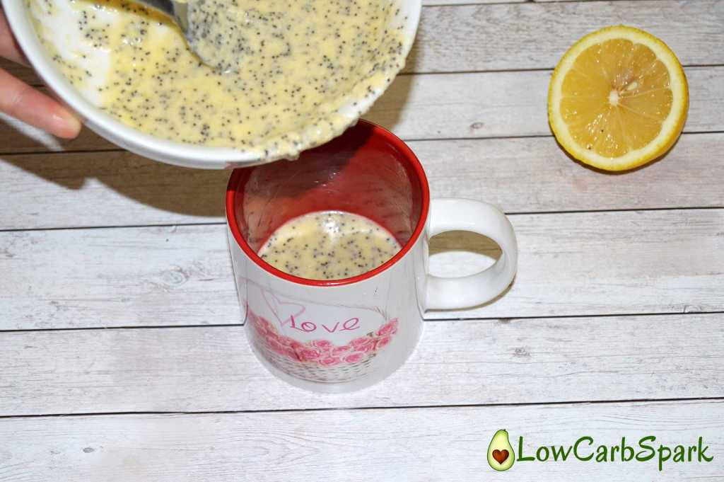easy-lemon-poppy-seeds-keto-mug-cake-mix-eggs-transfer-to-mug--low-carb-spark