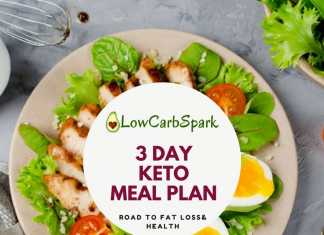 3 day keto meal plan