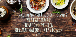 Absolute Beginner Keto Course Chapter 2