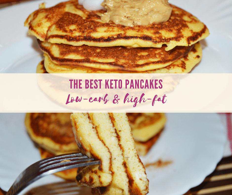The best Keto Pancakes with Coconut Flour | Low Carb & High Fat