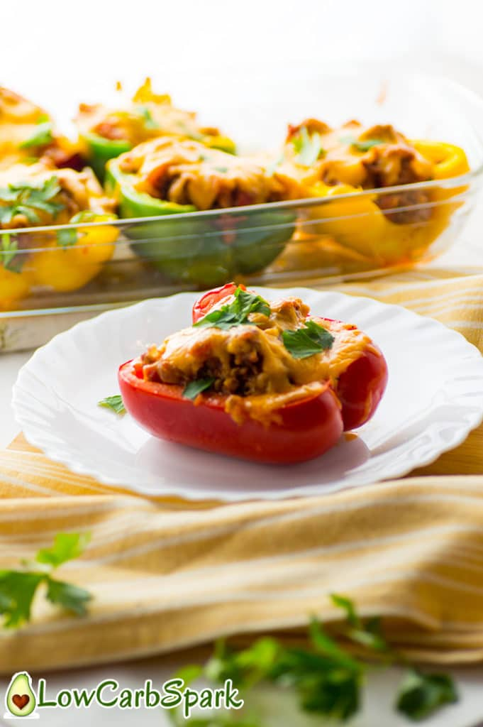 keto stuffed pepper recipe