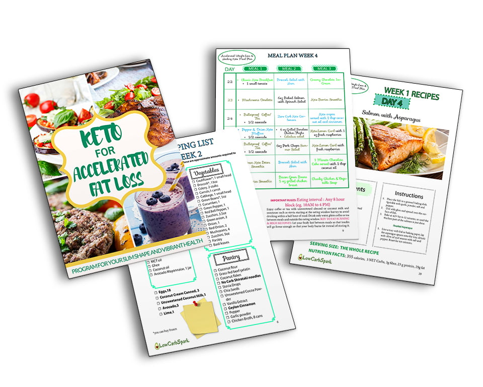 keto for accelerated fat loss banner