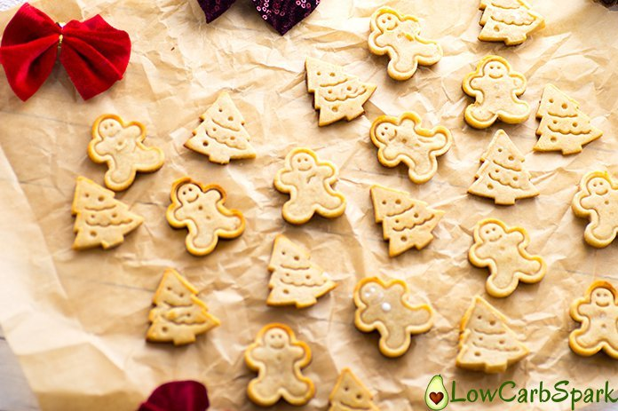 out of the oven cookies keto gingerbread
