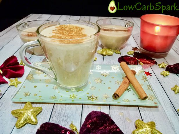 Velvety and Smooth eggnog