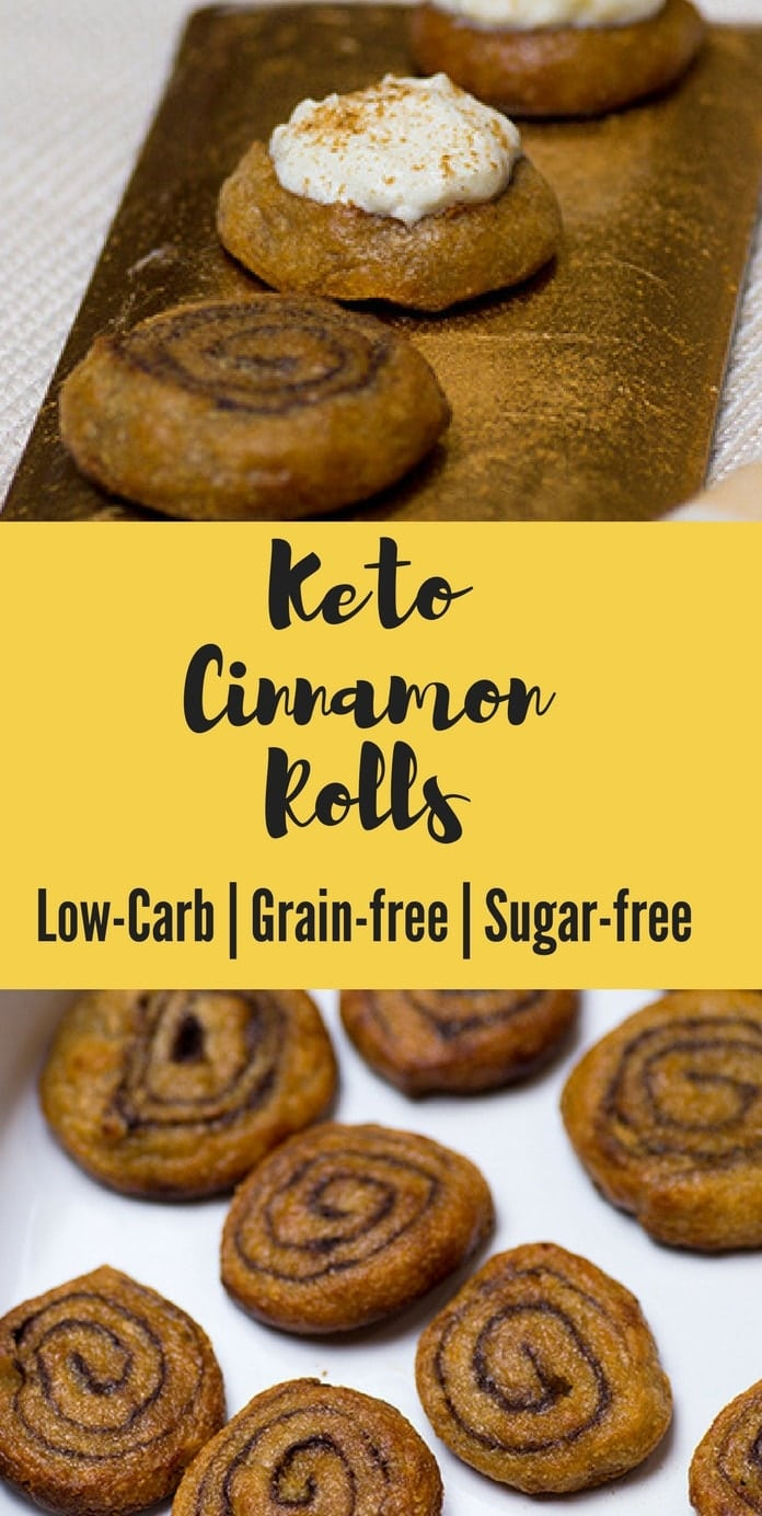 Keto cinnamon rolls low carb 3 net carbs keto