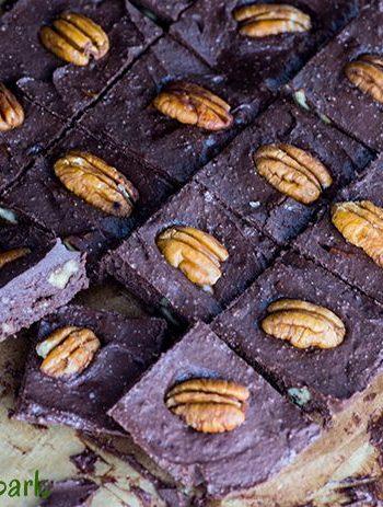 Easy Chocolate Pecan Keto Fudge   High-fat & Low-Carb Fat Bomb