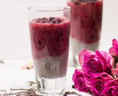 Easy Keto Raspberry Vanilla Chia Pudding – Only 2g NET carbs