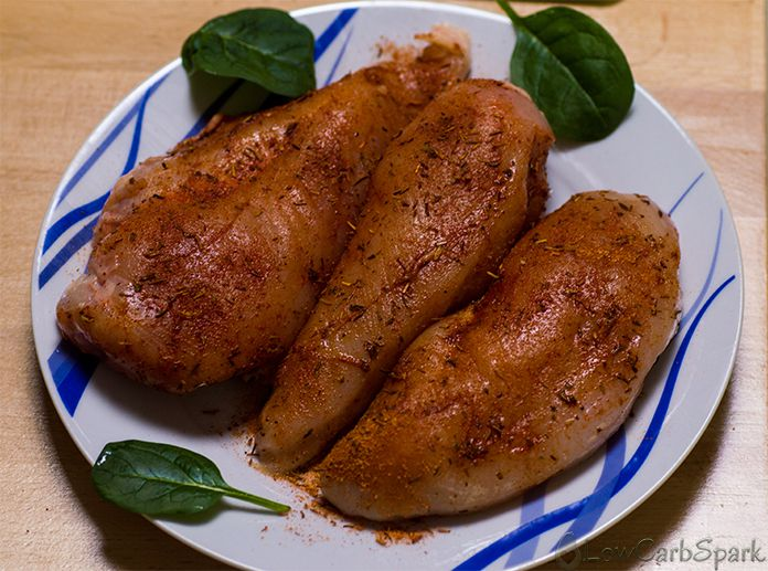 spiced chicken breast keto low carb