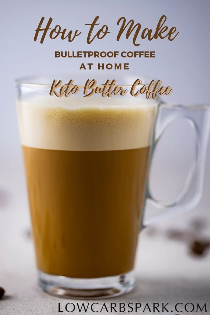 Bulletproof coffee is also called Fat coffee or Butter Coffee and it's a name used by the keto dieters for a special coffee drink high fat and low in carbs. Learn how to make a bulletproof coffee at home and enjoy the extra energy and health benefits.