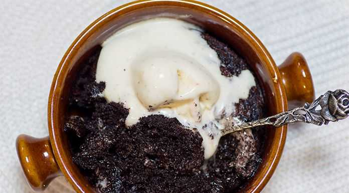 keto lava cake serving size