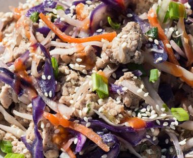 Easy Low Carb Crack Slaw ready in 20 minutes – Keto & Whole30