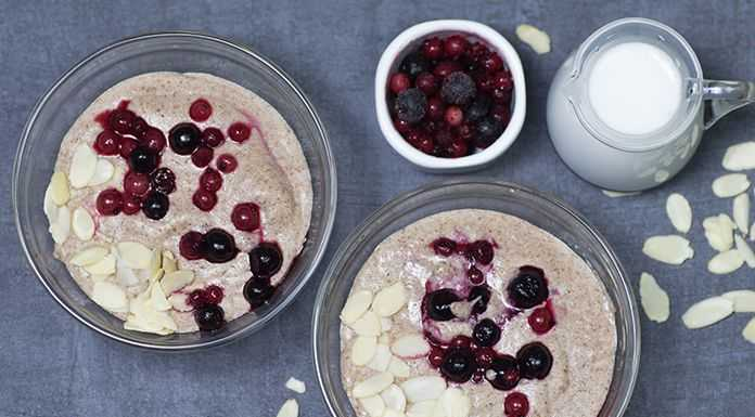 keto oatmeal low carb porridge