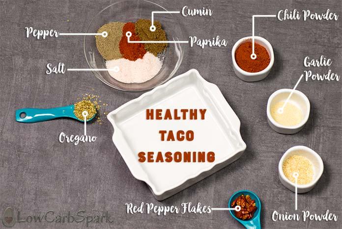 keto taco seasoning ingredients