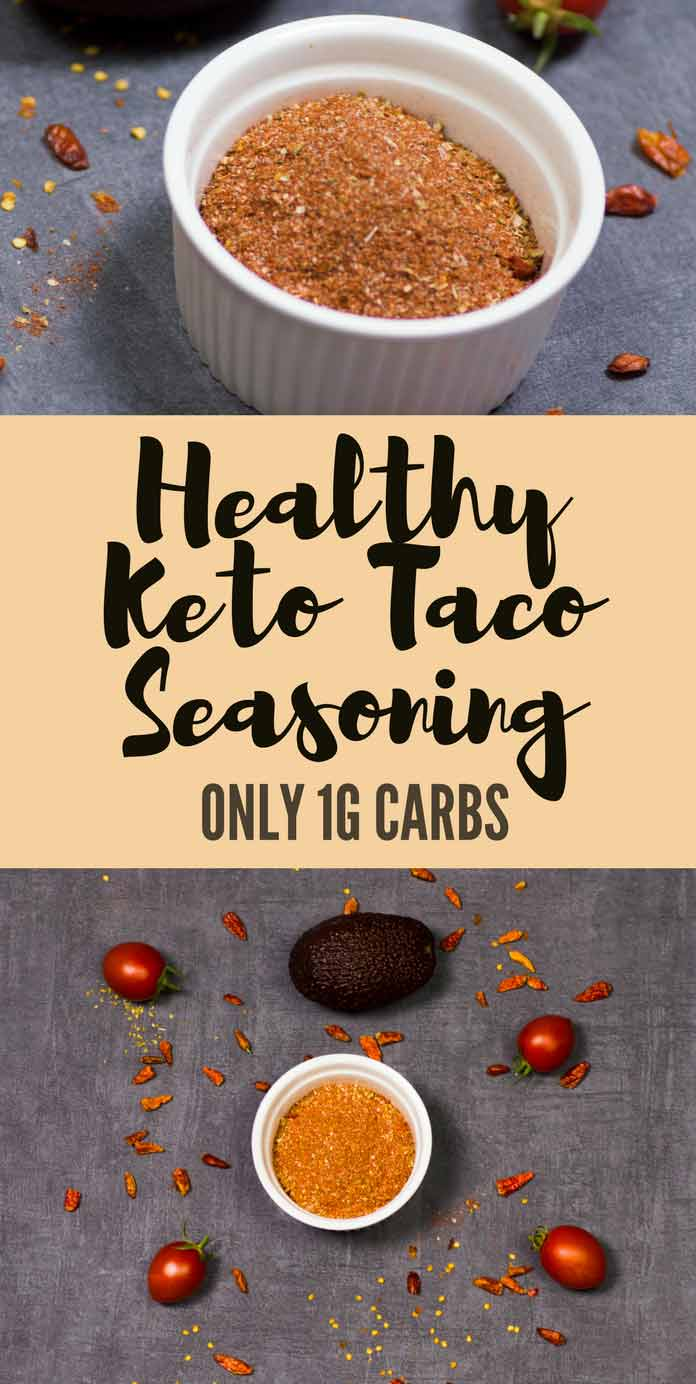 Healthy Keto Taco Seasoning Sugar Free Low Carb Gluten Free