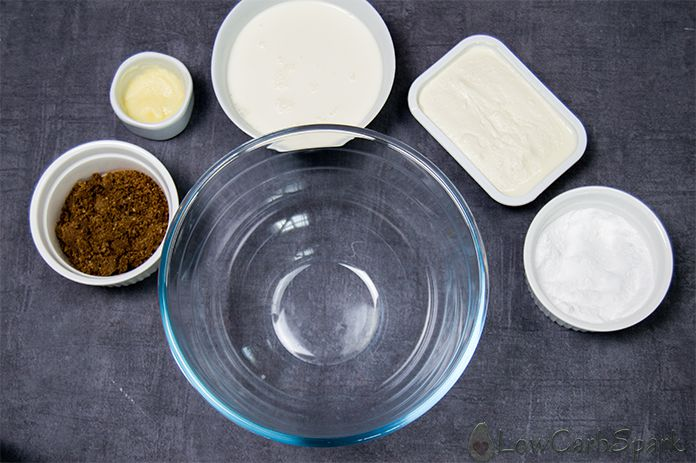 no bake keto cheesecake ingredients