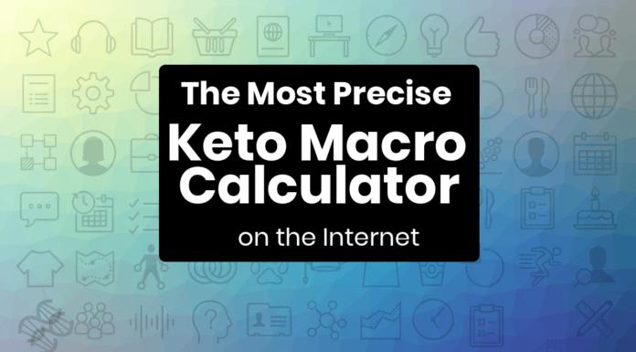 the most precise keto calculator on the internet