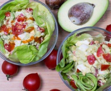 Creamy & Easy Healthy Keto Egg Salad – Low Carb Recipe