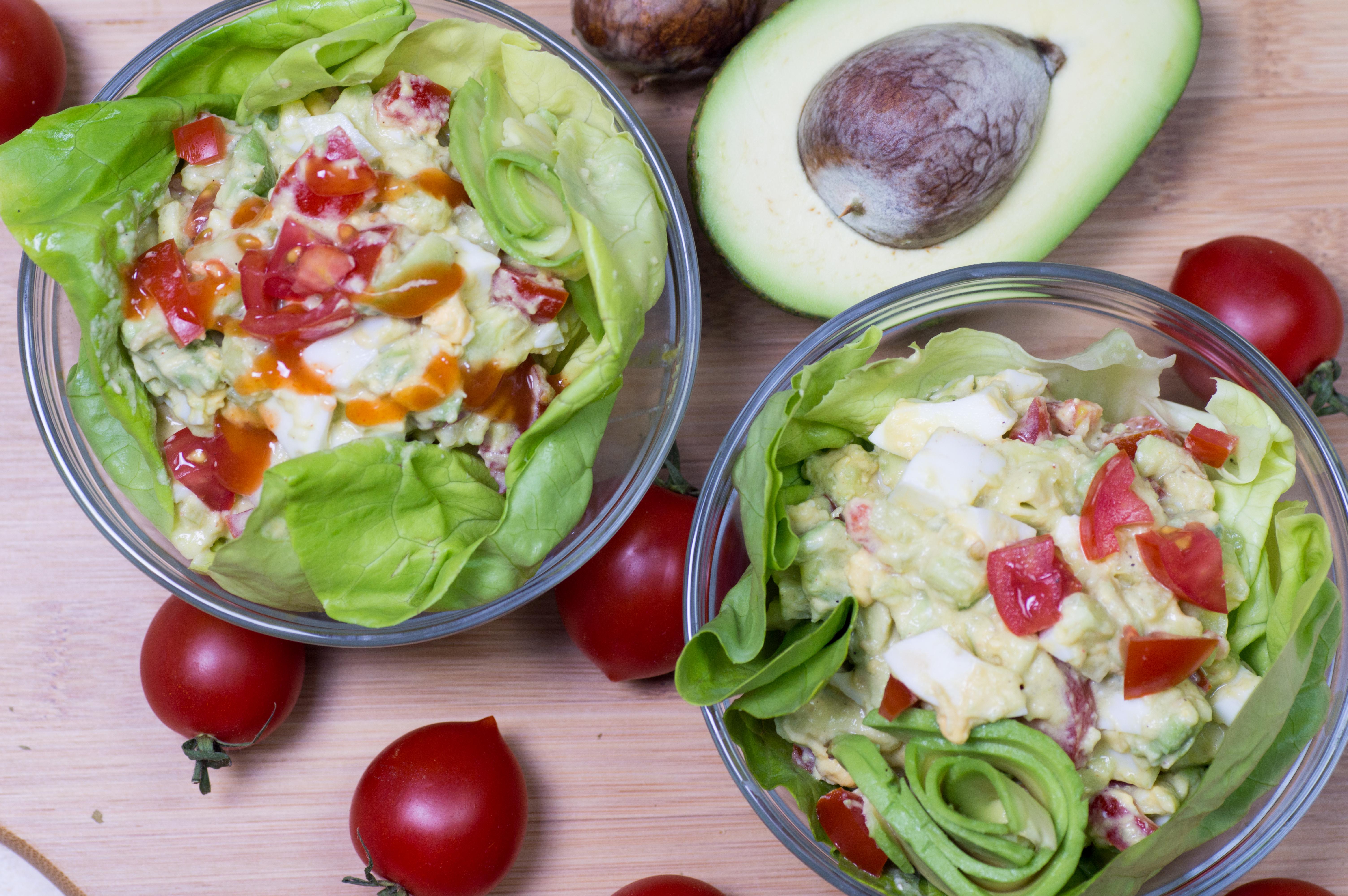 Creamy & Easy Healthy Avocado Keto Egg Salad – Low Carb Recipe