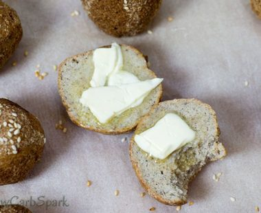 The Best Keto Bread Buns with Almond Flour and Psyllium – 2g net carbs