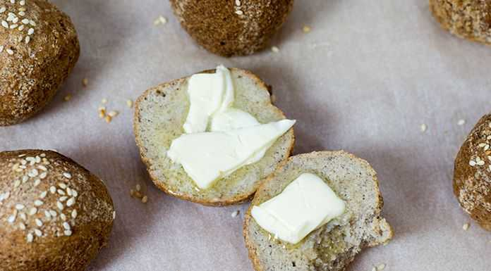 keto bread buns low carb recipe only 2 g net carbs for one