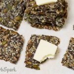 keto seeds crackers with butter perfect low carb snack