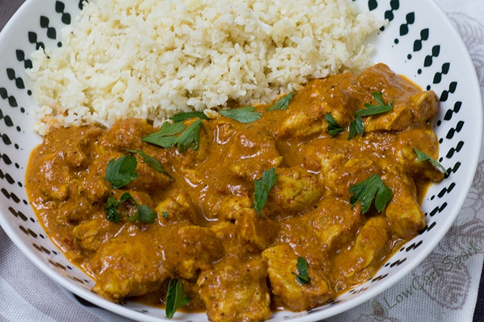 keto butter chicken recipe