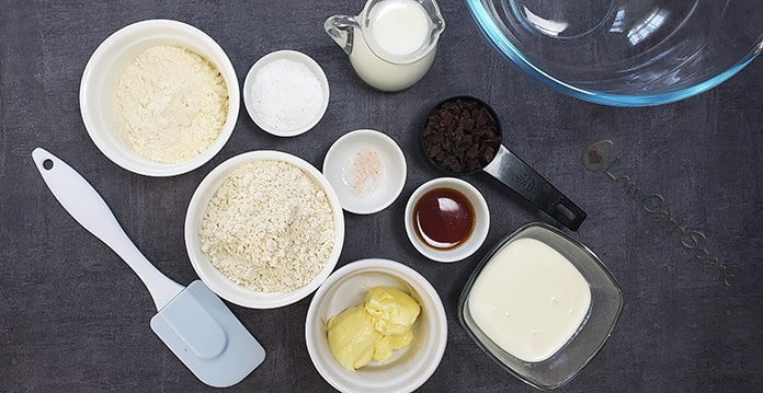 keto cookie dough ingredients