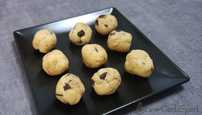 keto cookie dough serving size and macros