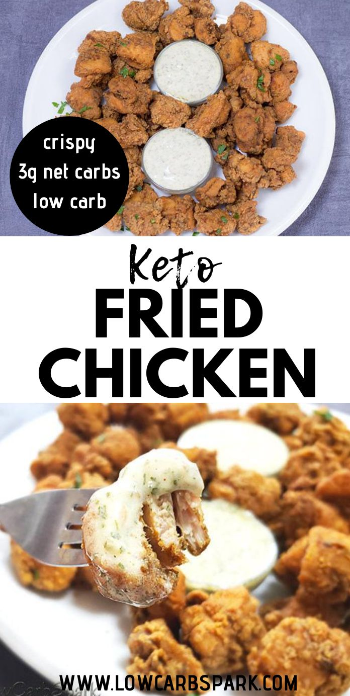 The Best Crispy Keto Fried Chicken - Low-Carb Gluten-Free Recipe