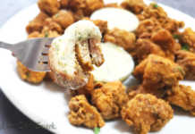 keto fried chicken bites recipe