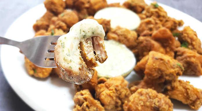 keto fried chicken bites recipe