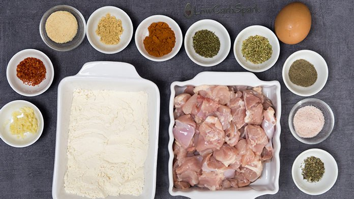 keto fried chicken ingredients