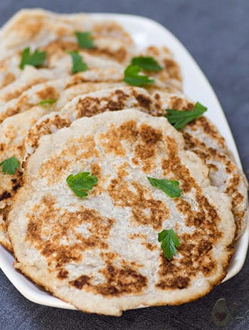 Easy Keto Tortilla – Low Carb Naan Bread – Pliable, Egg-Free & 2g net carbs