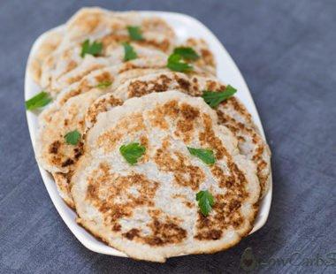 Easy Keto Tortilla – Low Carb Naan Bread – Pliable, Egg-Free & 2g net carbs